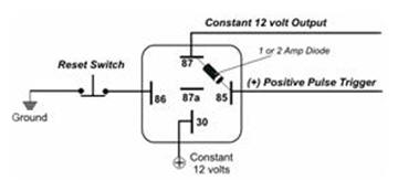how to guides relay applications continued constant 12 volt for use circuits such as extra lighting radio accessory circuits or any other circuit which requires a constant 12 volt output